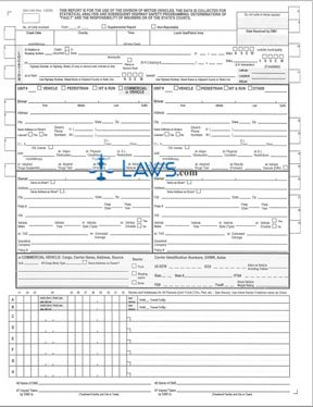 Form Dmv 349 Crash Report Form North Carolina Forms