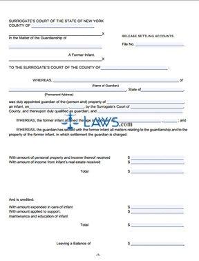 Form G-10B Petition to Close Guardianship Account (Guardian)