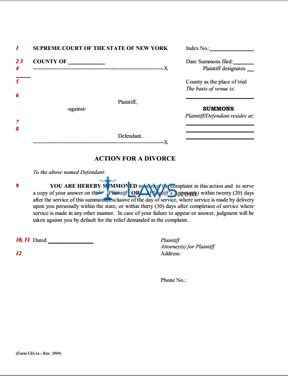 Summons template answer to summons template pleading templates form ud 1a summons to be served with verified complaint new york altavistaventures Choice Image