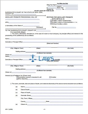new york document 80 case form