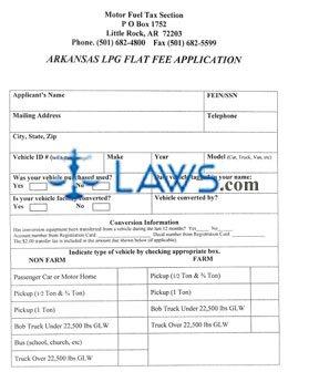 LPG Flat Fee Application