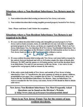Form IT-NR Inheritance Tax Return Non Resident
