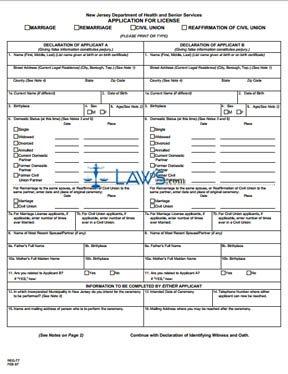 Form REG-77 Application for License