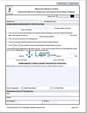 Form CN-11270 Mediation Request Form