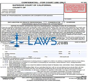 Form CA Marriage License Application Los Angeles County