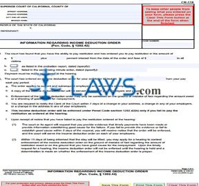 Small Claims Subpoena for Personal Appearance and Production of Documents at Trial or Hearing and De