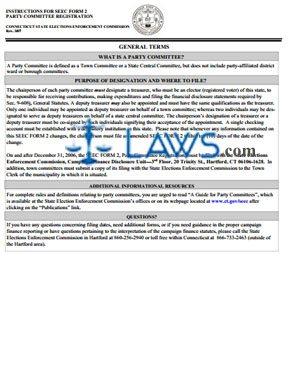 SEEC2 Instructions Form 2