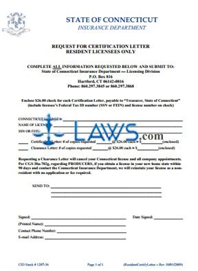 Certification and Clearance Forms
