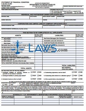 Form K-193 Statement of Financial Condition