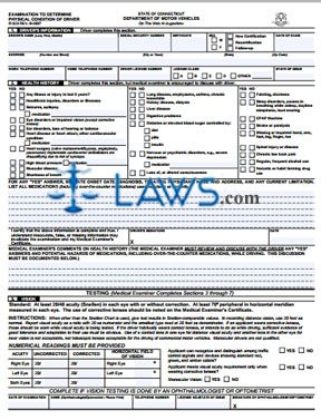 Form R-323 Examination to Determine Physical Condition