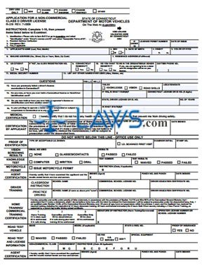 R-229 Application for Non-Commercial Class D Driver License ...