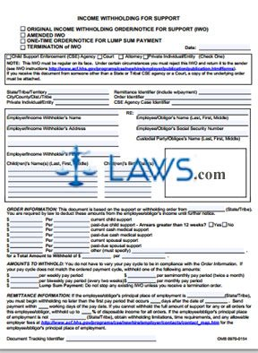 Form OMB-0970-0154