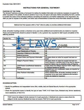 Form OCSE-OMB-0970-0085-GI