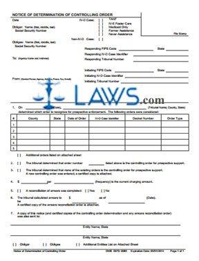 Form OCSE-OMB-0970-0085