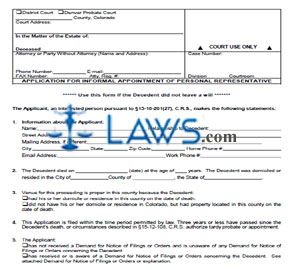 Application-for-Informal-Appointment-of-Personal-Representative Jdf Application Form on icc application form, pdf application form, jrc application form, jet application form,