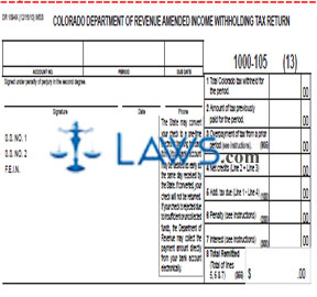 Legal Forms 1094x Form Amended Tax Dr Withholding