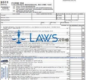 Form 104 Individual Income Tax