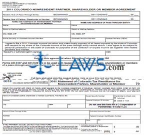 Form 106 Income Tax Return for Pass-Through Entities and Composite Filing for Nonresidents Booklet