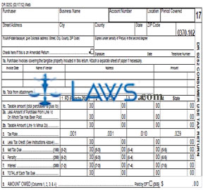 Exceptional Form DR 0252 Consumer Use Tax Return