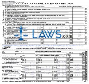 Form DR0100F Retail Sales Tax Return 2011