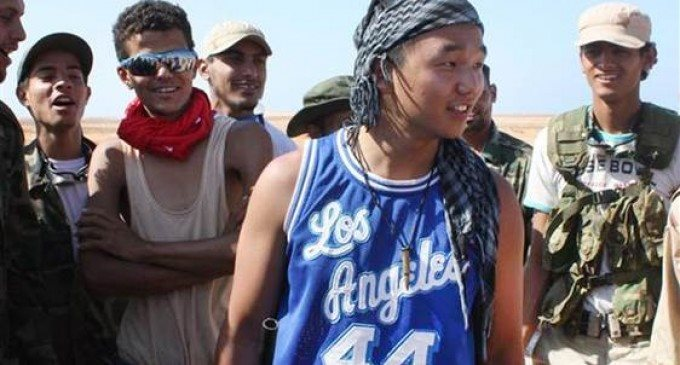Wild and Crazy Summer: College Student Joins Libyan Rebels
